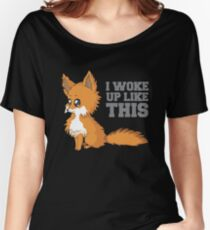 Fox Woke Up Like This Women's Relaxed Fit T-Shirt