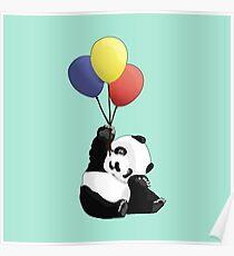 Panda's Happy Day Poster