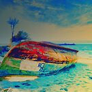 Lonely Boat  by rosalin