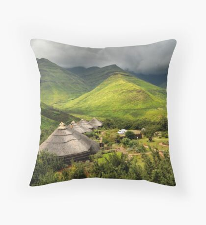 Ahhh, but Africa is beautiful.... Throw Pillow