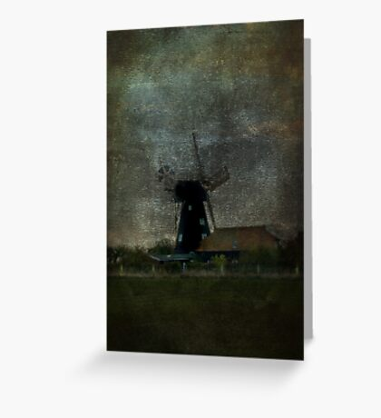 The Black Mill Greeting Card
