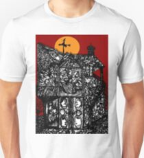 What's Inside... Blood Red Sky Unisex T-Shirt