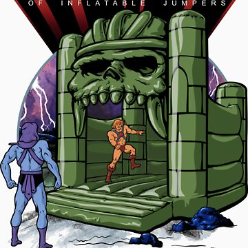 Bouncy Castle Grayskull  by Griggitee