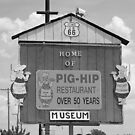 Route 66 - Pig-Hip Restaurant by Frank Romeo