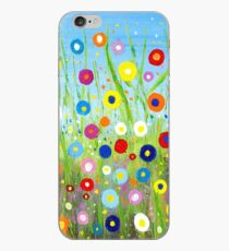 Happy Little Garden 2 iPhone Case