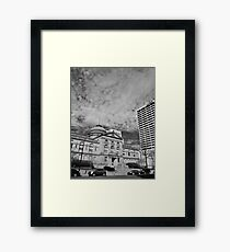 The County Courthouse Framed Print