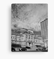 The County Courthouse Metal Print