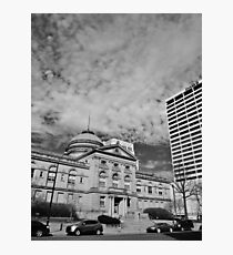 The County Courthouse Photographic Print