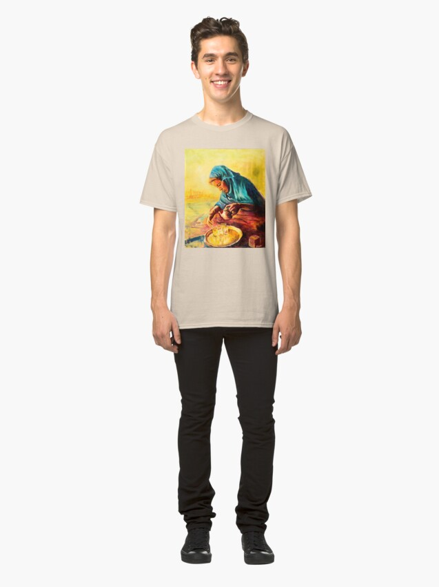 Alternate view of African Chai Tea Lady Classic T-Shirt