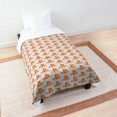 Playstation Logo Orange Comforter