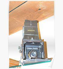 Graflex Camera Poster