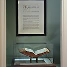 Lothrop Bible on Display by sturgislibrary