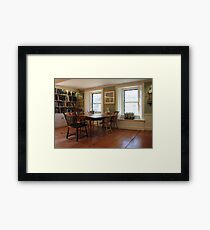 Lothrop Room, Sturgis Library Framed Print