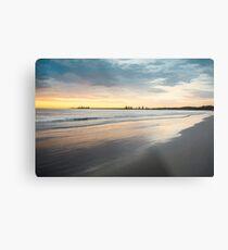 Sunrise at Port Fairy (crisp colour paint) Metal Print