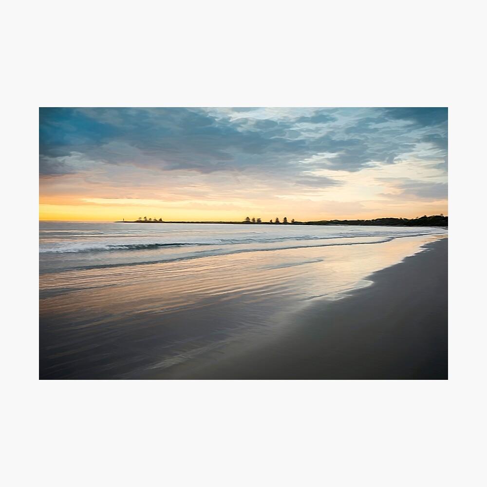 Sunrise at Port Fairy (crisp colour paint) Photographic Print