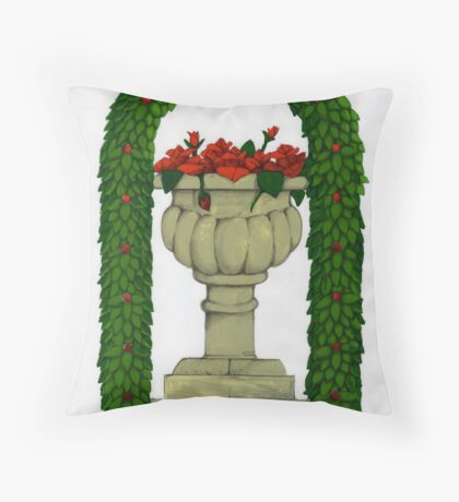 The Roses Divine!  Throw Pillow