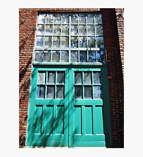 Turquoise Photographic Print