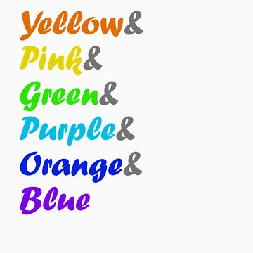 I Can Sing a Rainbow, arranged by Stroop by benthos