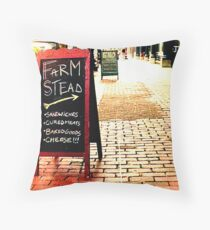 Westminster Street, Providence Throw Pillow