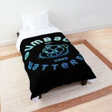 The Amazing World of Gumball Blue Glitch Gumball Comforter