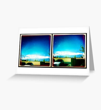 cumulus combustion Greeting Card