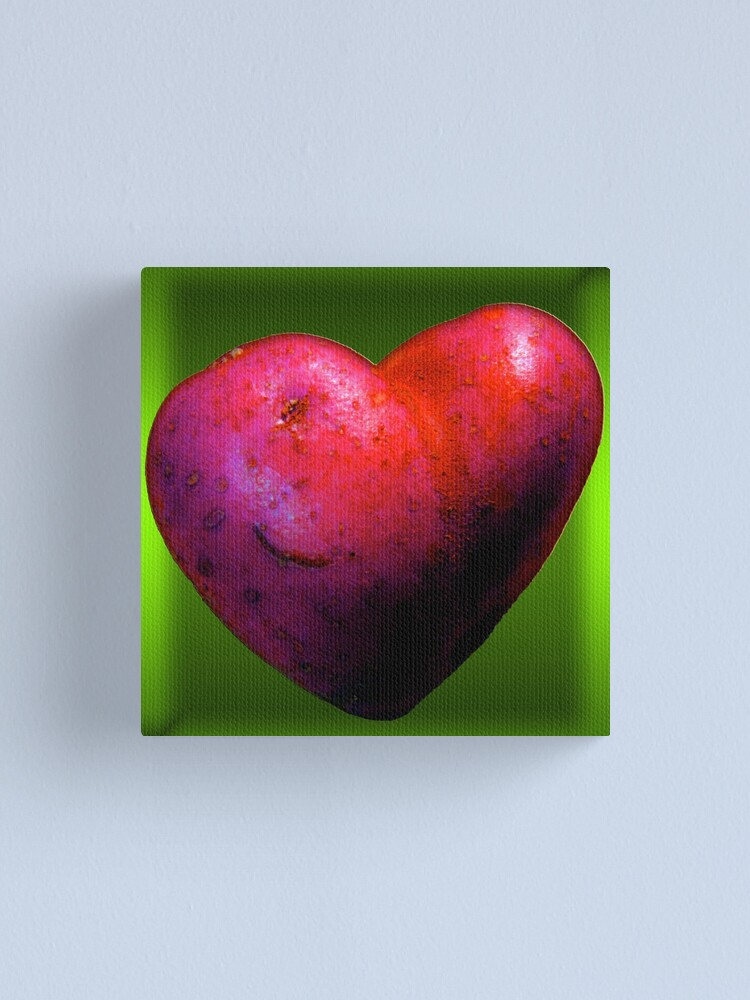 Alternate view of I LOVE Spuds! Canvas Print