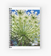 Queen Anne's Lace Spiral Notebook