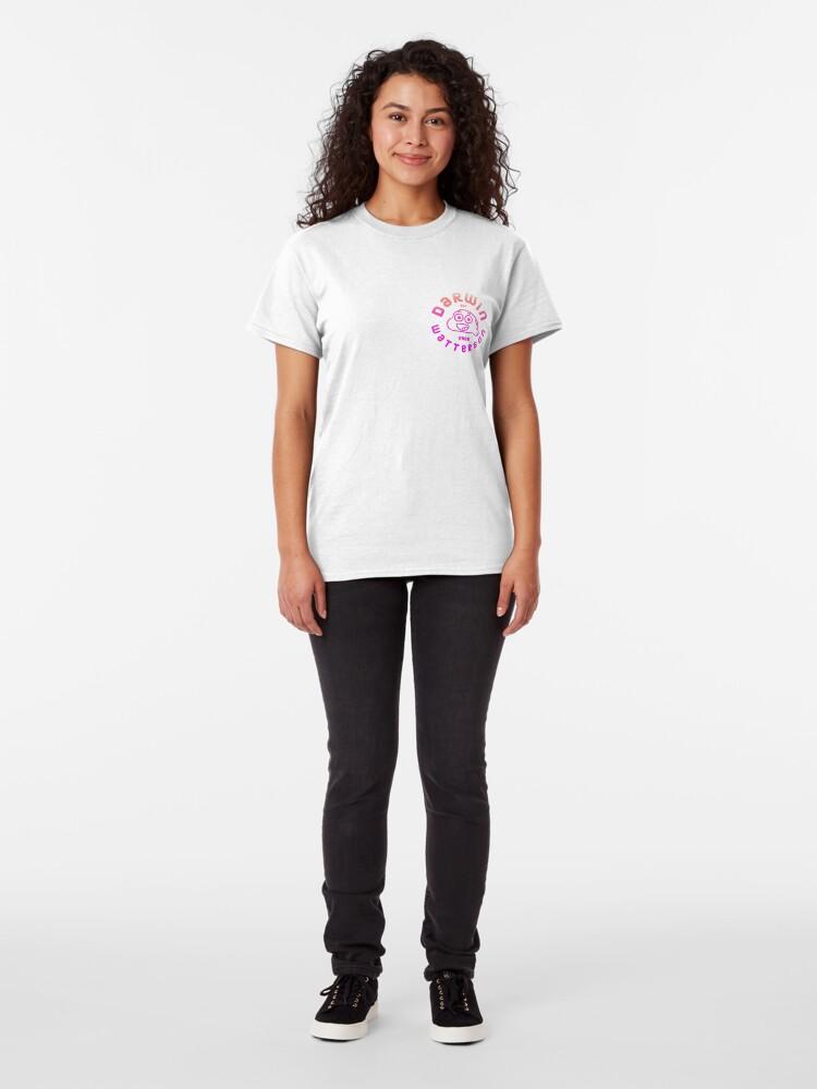 Alternate view of The Amazing World of Gumball Pink Darwin Classic T-Shirt