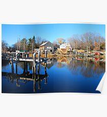Essex Ship Yard - Essex, Massachusetts Poster