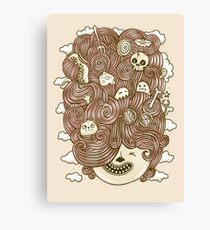Crazy Hair Day Canvas Print