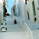 "Solitude on the Stairs - Andros by Christine ""Xine"" Segalas"