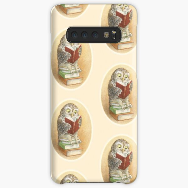 Book Owl Samsung Galaxy Snap Case