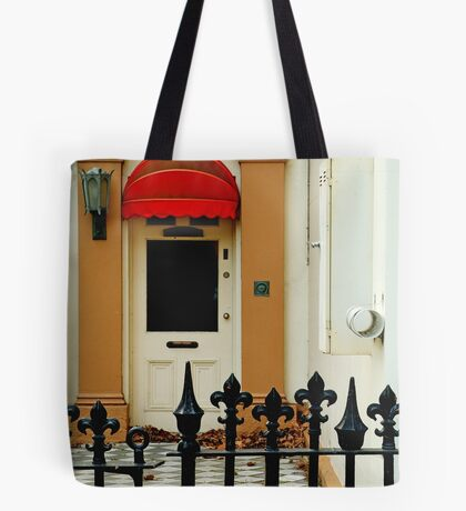 Red Canopy Tote Bag