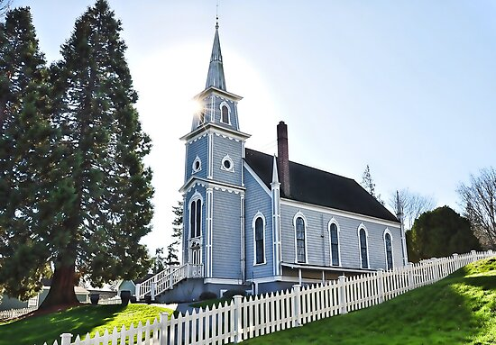 Small Town Church by Emilie Trammell