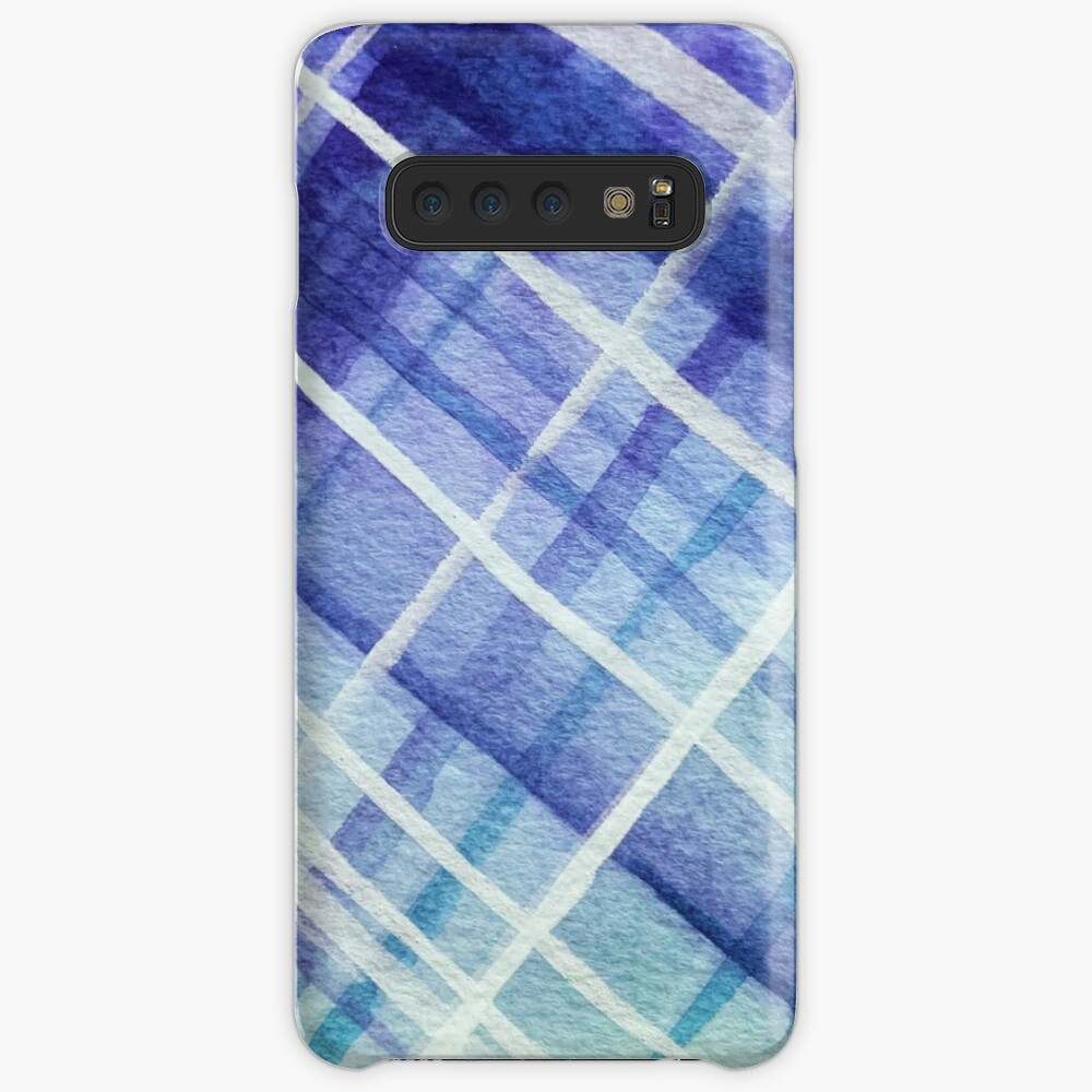Sky Walker Plaid Samsung Galaxy Snap Case