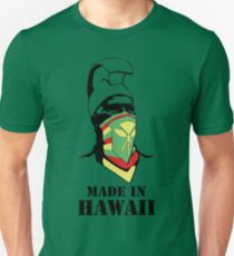 Made In Hawaii_BLACK outline T-Shirt