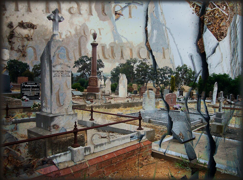 der Kirschhof, Lutheran cemetery, Birdwood by shallay