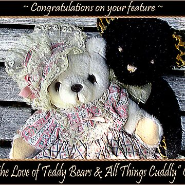 For the Love of Teddy Bears & all things Cuddly banner challenge by Keyverse