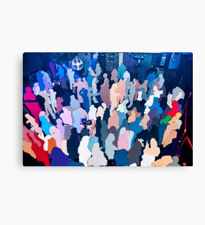 Loving the Nightlife - #24 Canvas Print