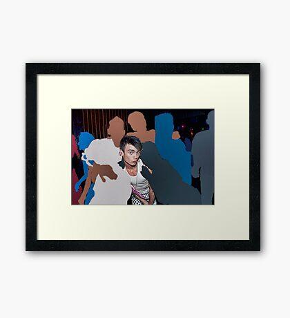 Loving the Nightlife - #14 Framed Print