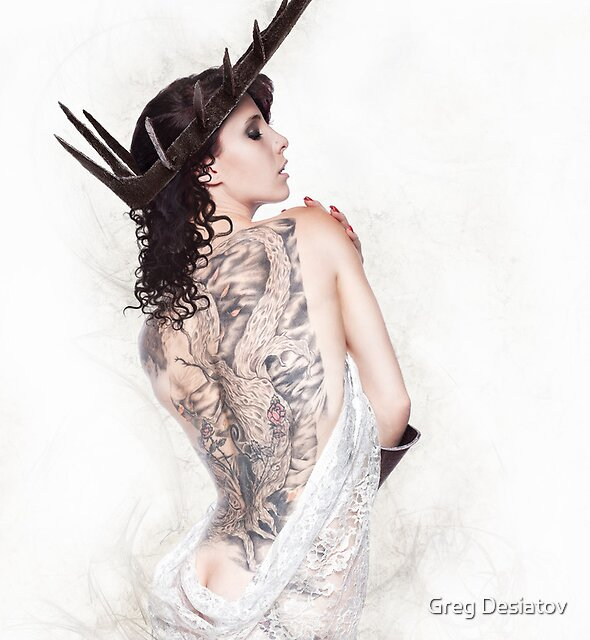 Barbed Beauty by Greg Desiatov