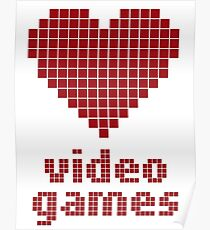 Video Game Love Poster