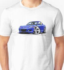 Mazda RX8 Blue Unisex T-Shirt