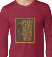 Coffee Lovers Word Cloud T-Shirt