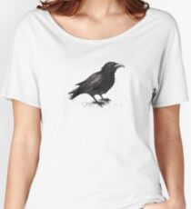 Crow Women's Relaxed Fit T-Shirt