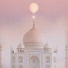 Taj Mahal Moon  by MarleyArt123