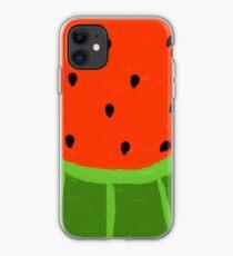Watermelon Sliced iPhone Case