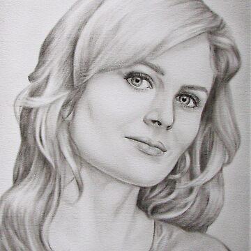 Emily 'Bones' Deschanel by artCEW
