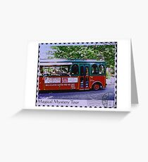 Magical Mystery Tour Greeting Card