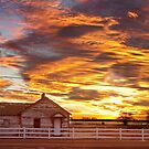 Country House Sunset Longmont Colorado Boulder County by Bo Insogna